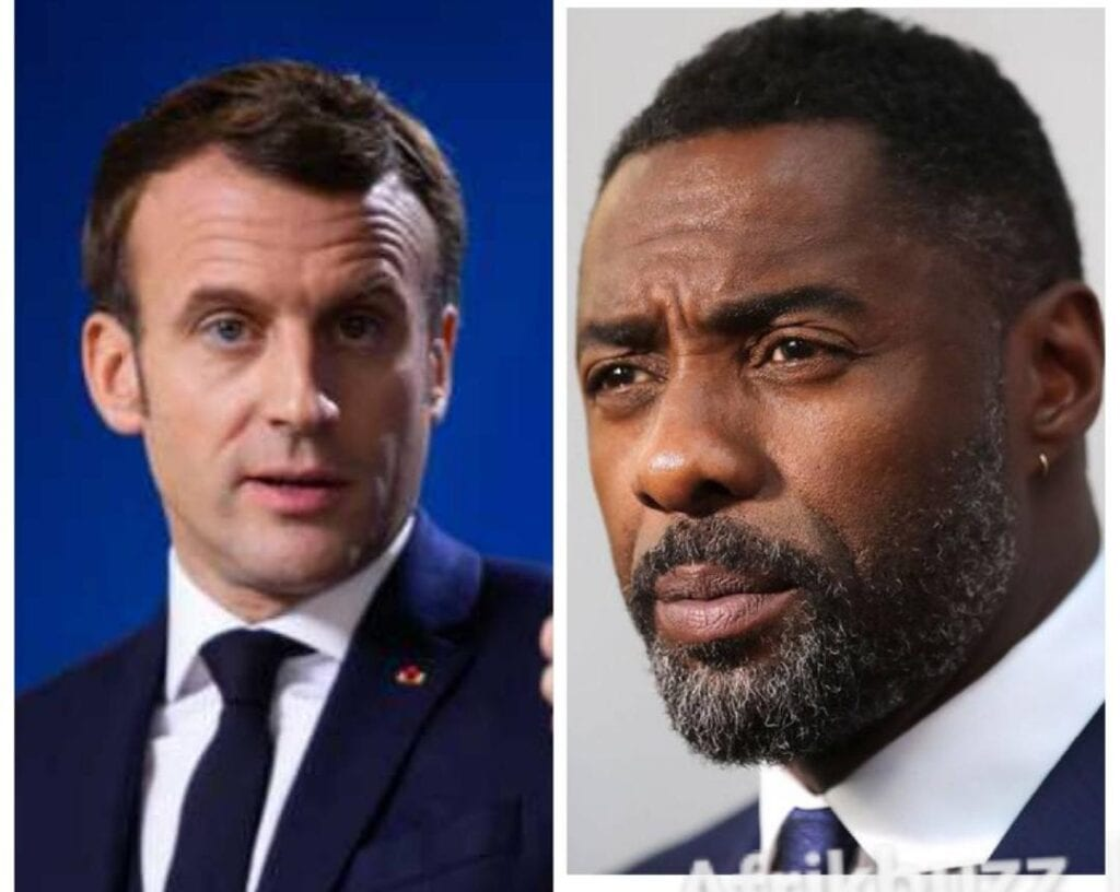 Macron Idriss Elba France Afrique
