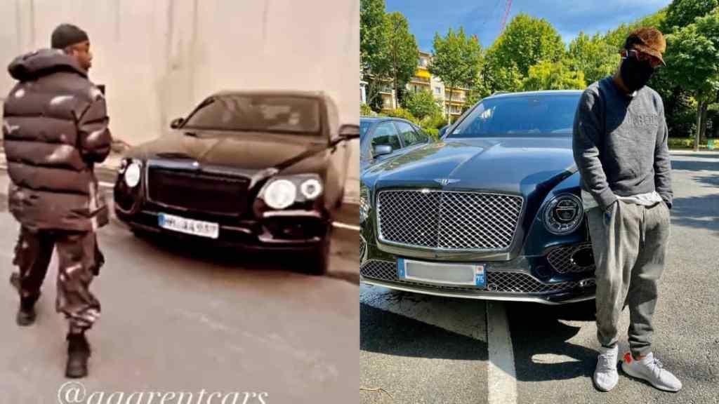 Ninho Bentley voiture