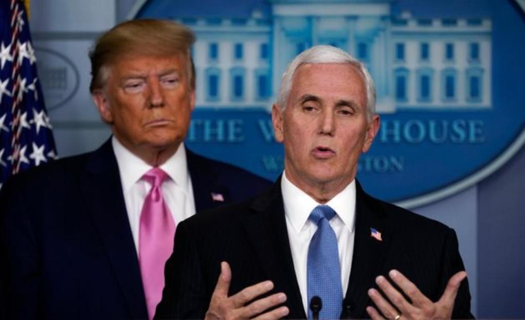 Donald Trump Mike Pence destitution