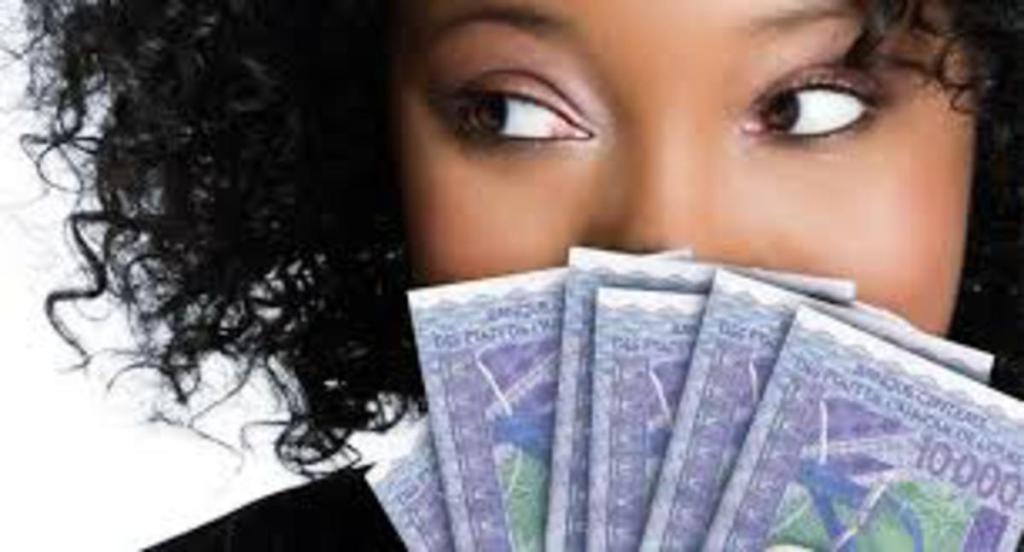argent de tontine dame K.S