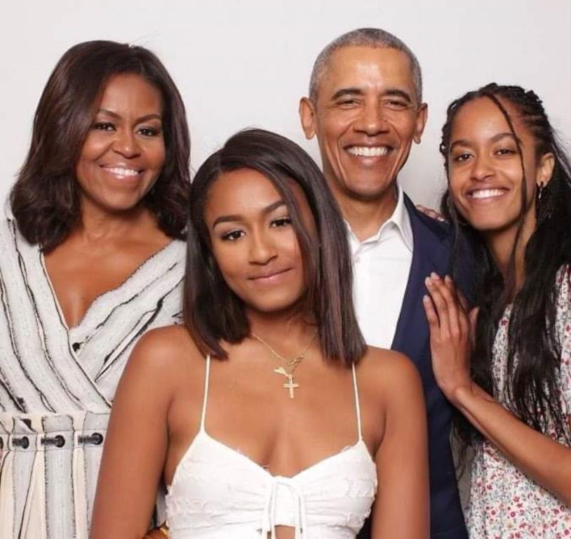 Barack Obama famille message Saint-Valentin