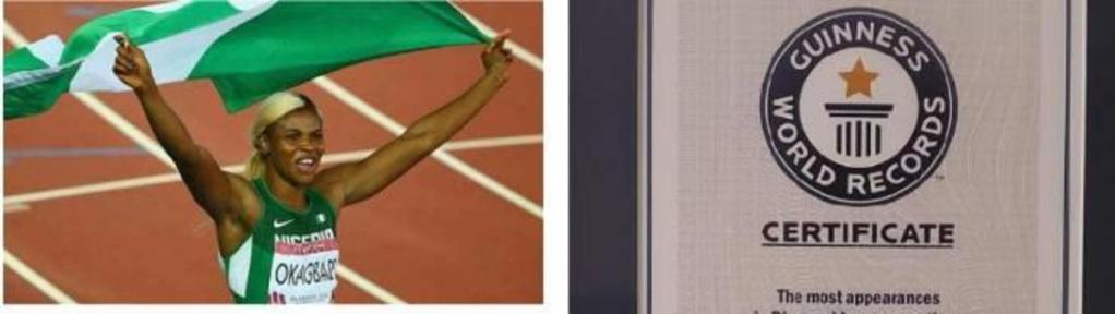 Usain Bolt record battu nigériane Blessing Okagbare