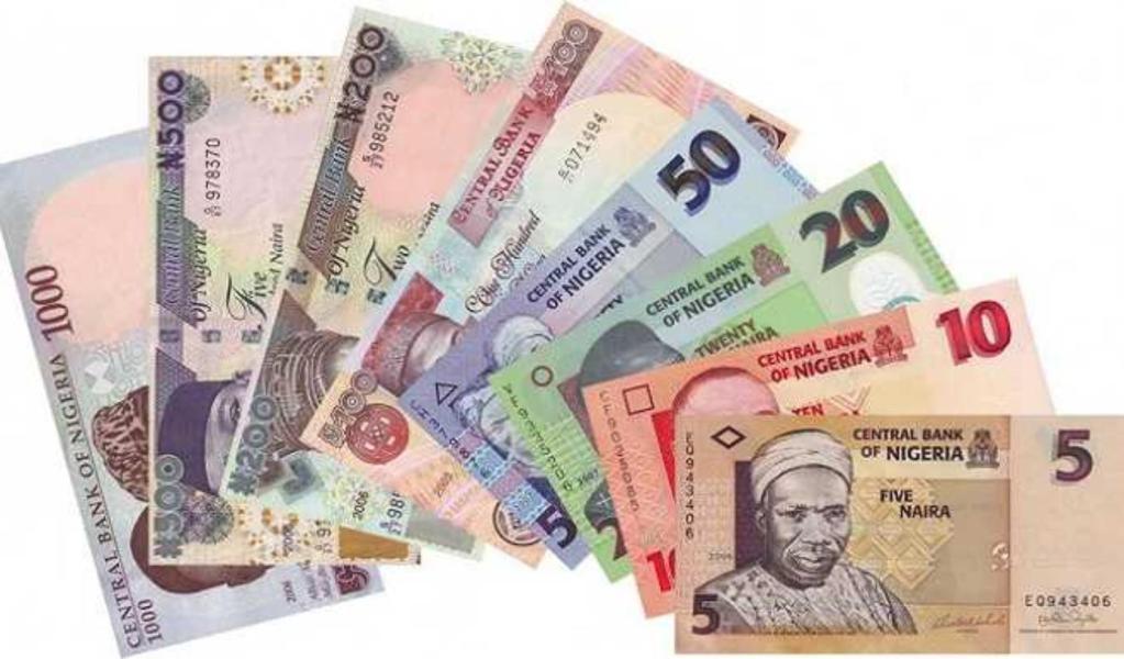 Nigéria naira baisse du taux de change