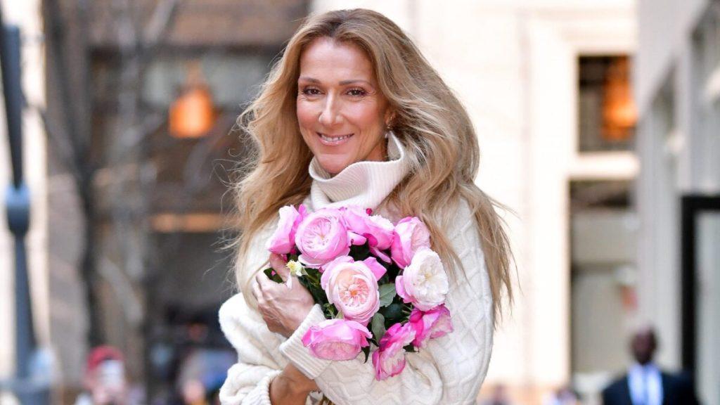 Céline Dion coiffure