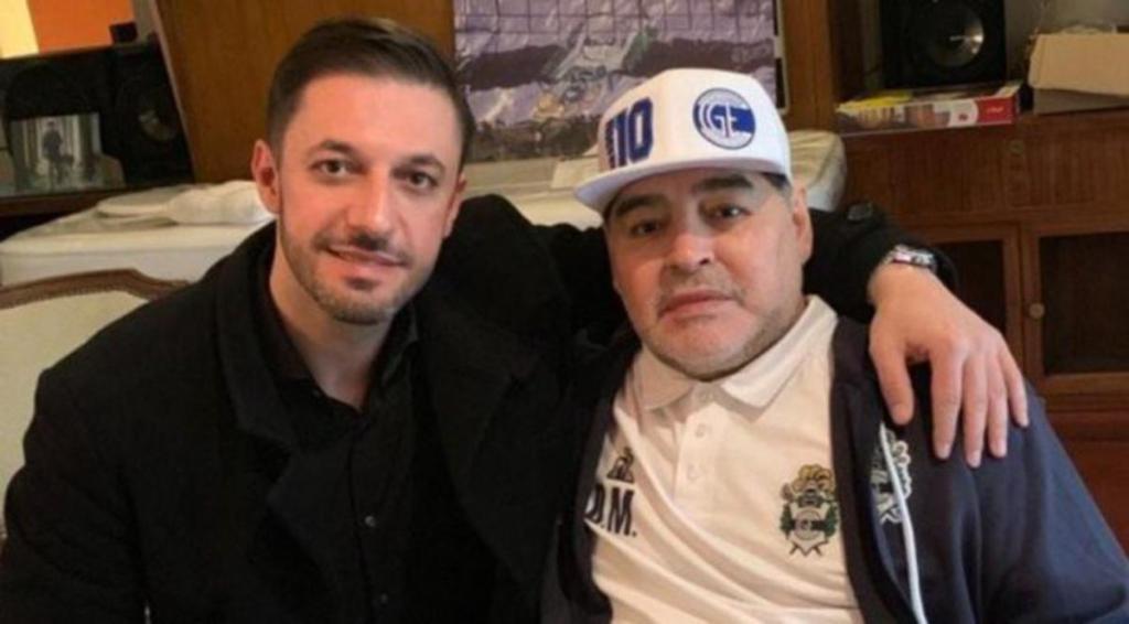 médecin enregistrement Diego Maradona toile