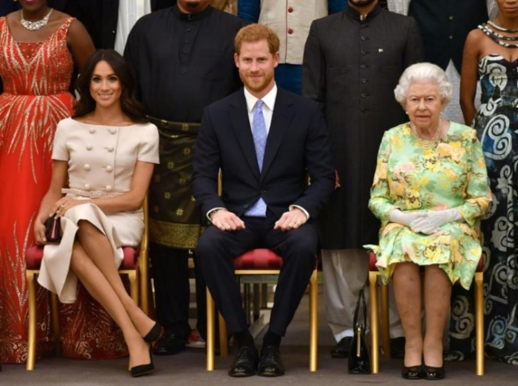 reine Elisabeth II répond sort silence interview Meghan Harry