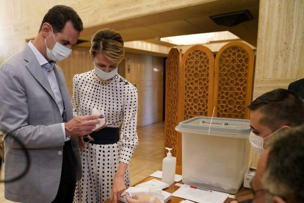 Bashar et Asma al-Assad positifs COVID-19