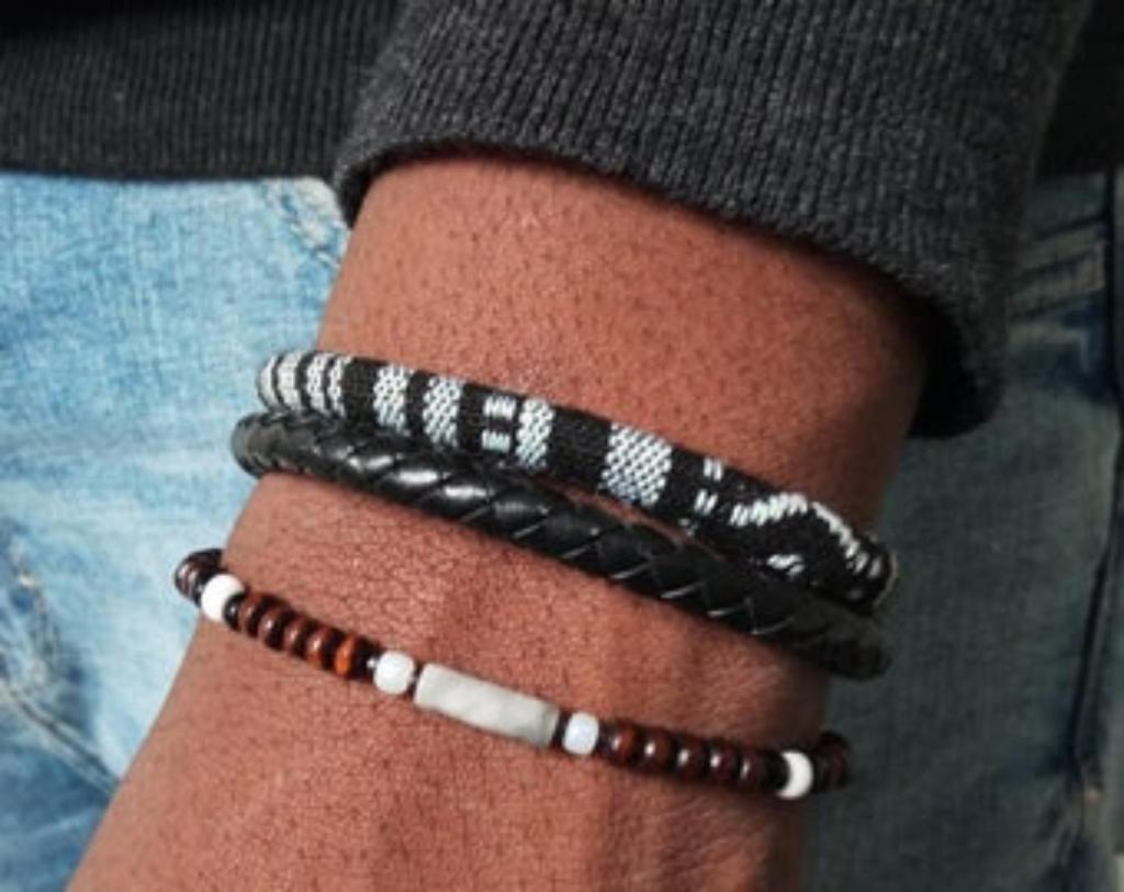 bracelet hommes africains