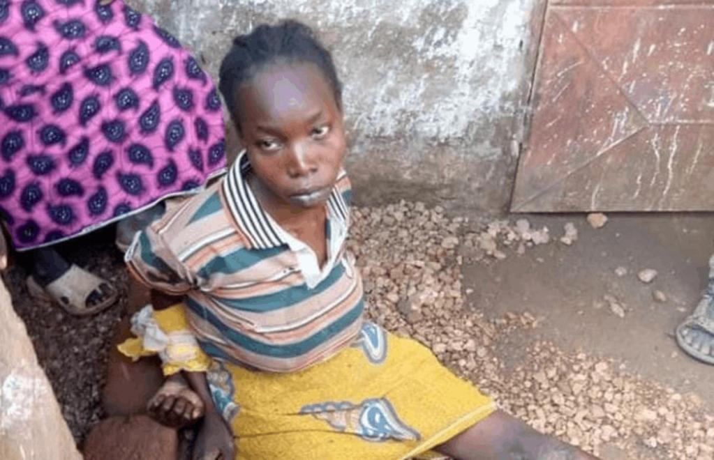 Arrestation femme tué 2 filles préparé corps Cameroun