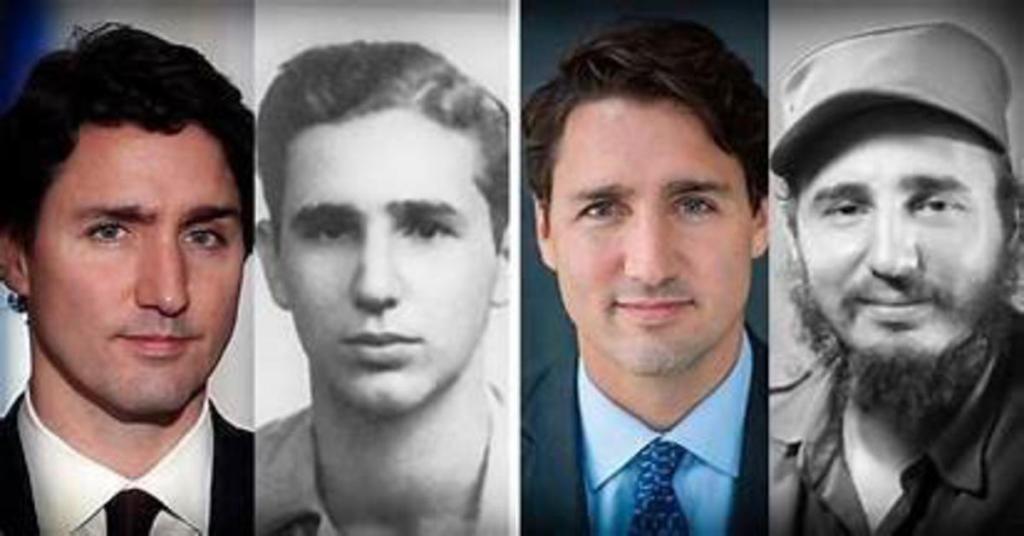 Justin Trudeau troublante ressemblance Fidèle Castro