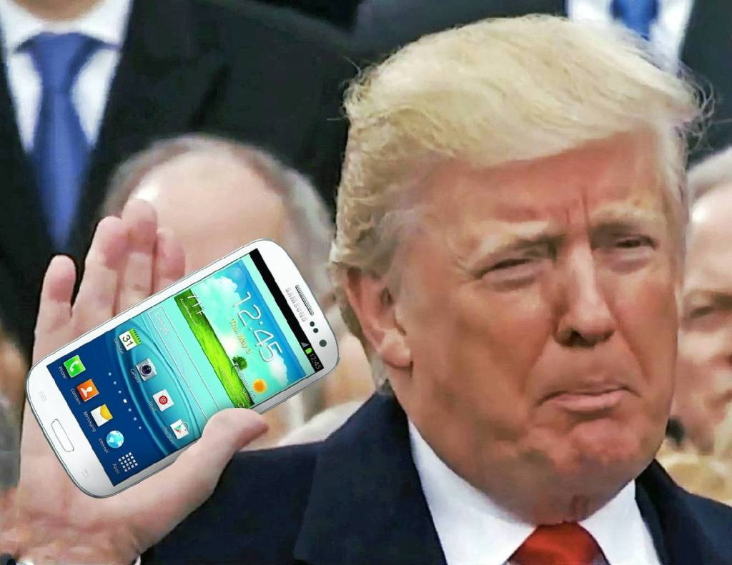 Donald réseaux sociaux plateforme