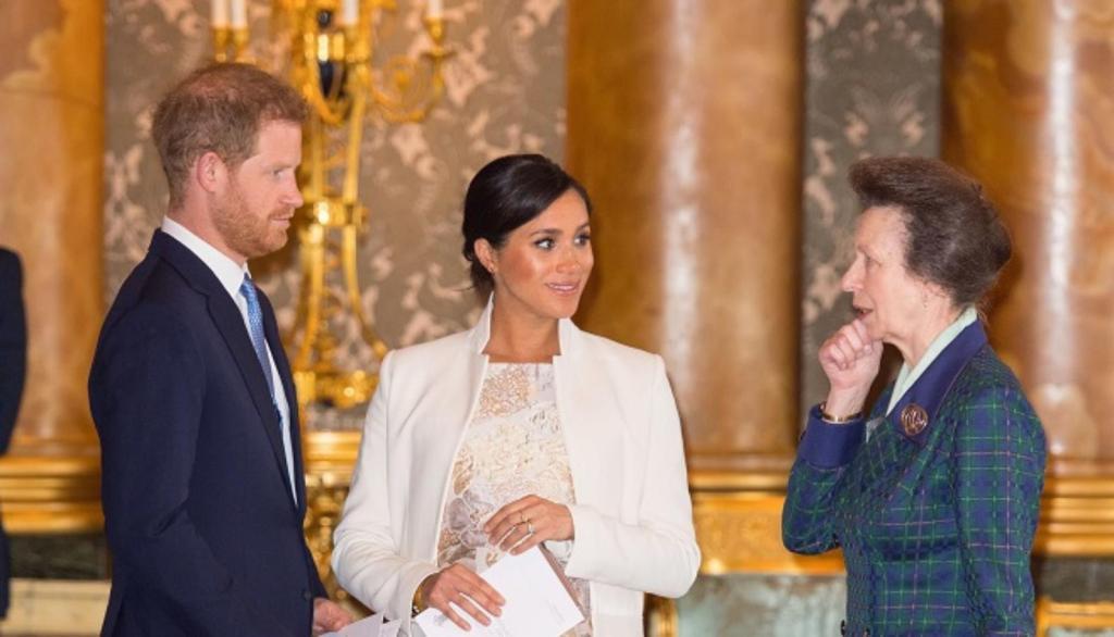 Meghan Markle prince Harry racisme princesse Anne Lady Colin Campbell