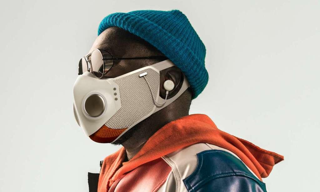 Will.i.am masque Xupermask Honeywell