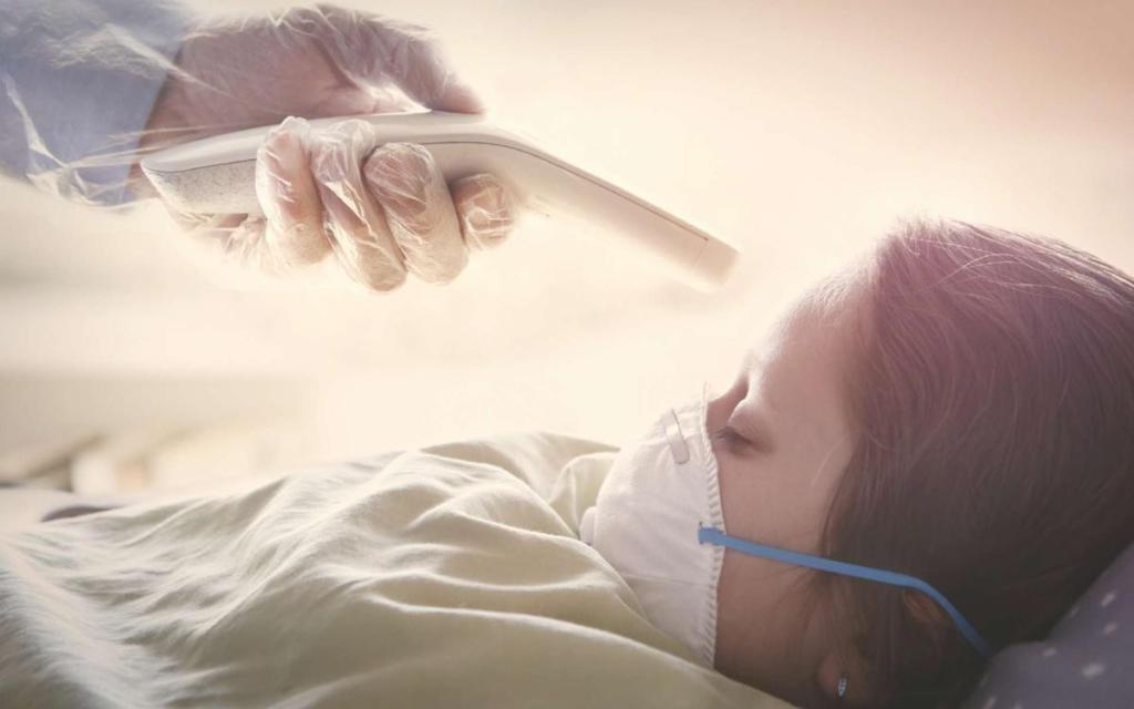 covid-19 enfants atteints syndrome inflammatoire symptômes neurologiques