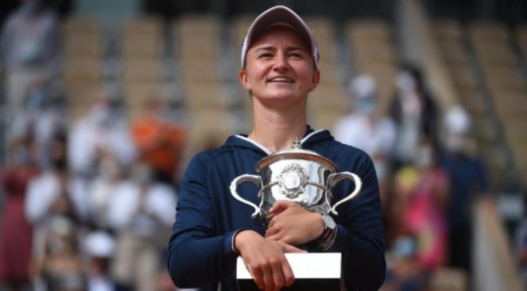 Krejčíková victoire Roland Garros 2021