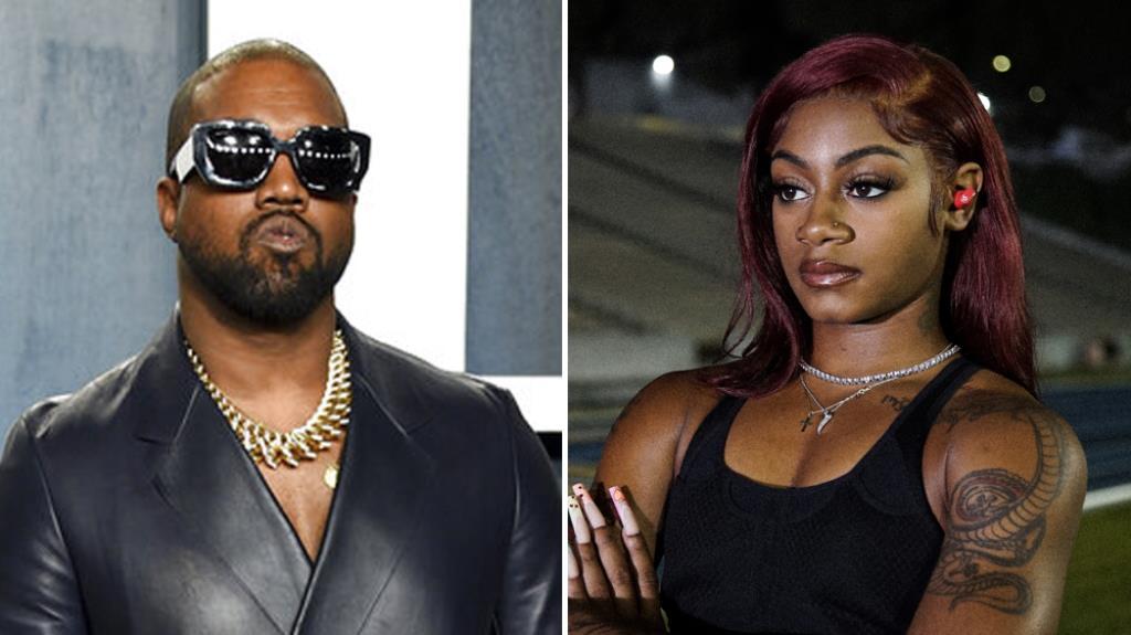 Sha'Carri Richardson Kanye West