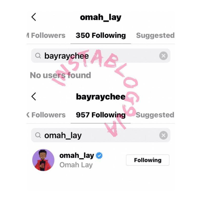 Omah Lay copine