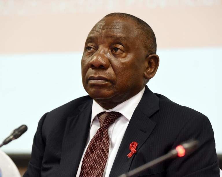 South Africa's Ramaphosa pledges to defeat pandemic