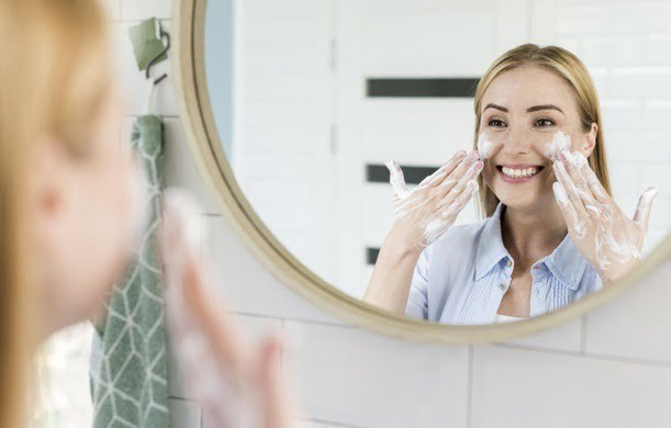 Smoother Facial Skin