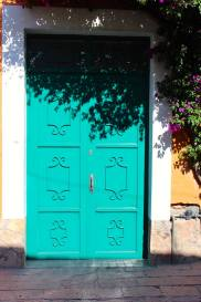 Beautiful doors in Tequisquipan