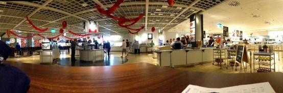 The cafeteria at Ikea