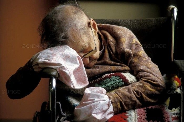 Elderly life calculator: it calculates the date of death