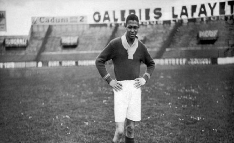 The first African footballers in Europe