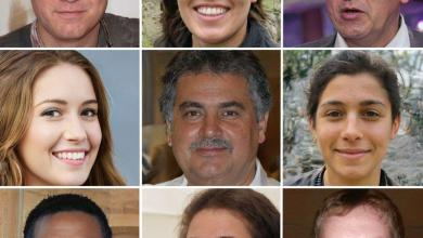 On the website 'ThisPersonDoesNotExist.com' you see a new face each time you refresh the page. But they are all fake: the people behind the heads do not exist.