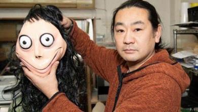 """Momo is dead"": artist (43) says he destroys terrifying artwork"
