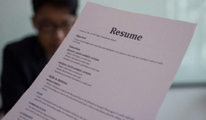 The usefulness of references on a resume
