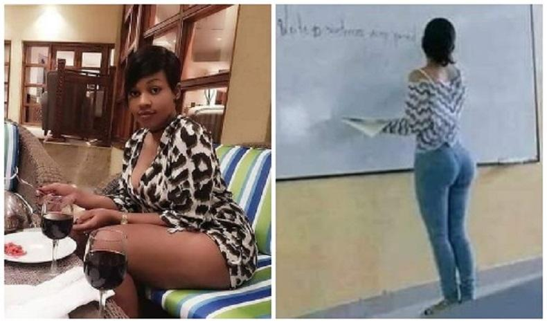 Sexy female teachers cause male students to self-abuse at night