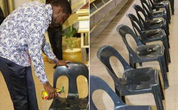 Prophet magaya charging $500 to sit on anointed chairs [Photos]