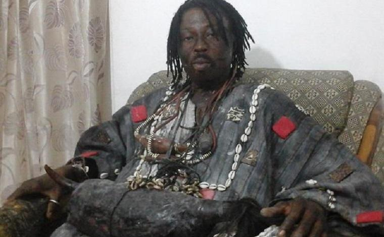 Kwaku Bonsam enters church to regain his charm given to pastor [Video]
