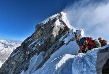 Unique photo shows long (and deadly) queue on Mount Everest