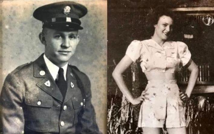 Soldier fell in love during WWII, 75 years later he finds her again