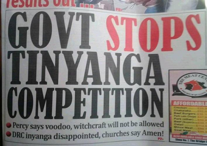 Eswatini (formerly Swaziland): government bans witchcraft competition