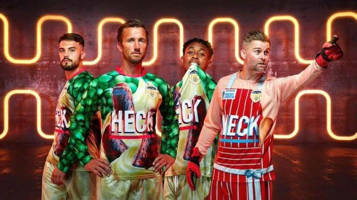 """Ugliest t-shirt in the world? Club launched jersey with """"sausages"""" as main theme"""