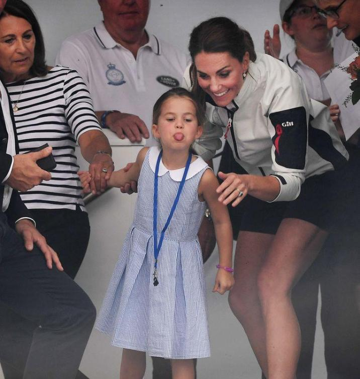 """""""That's not naughty, but rude"""": Britons spread over the tongue of Princess Charlotte"""