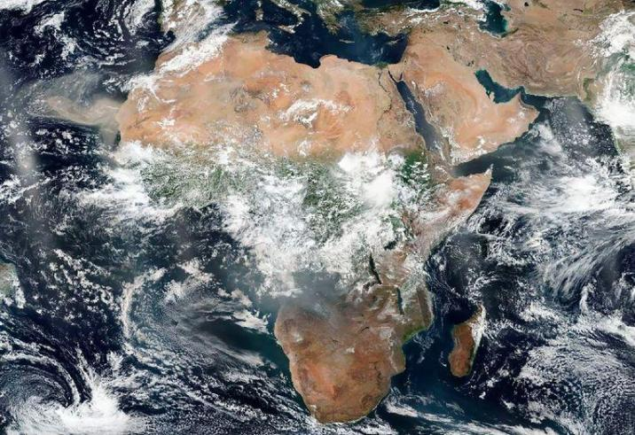 Africa is currently burning harder than the Amazon forest