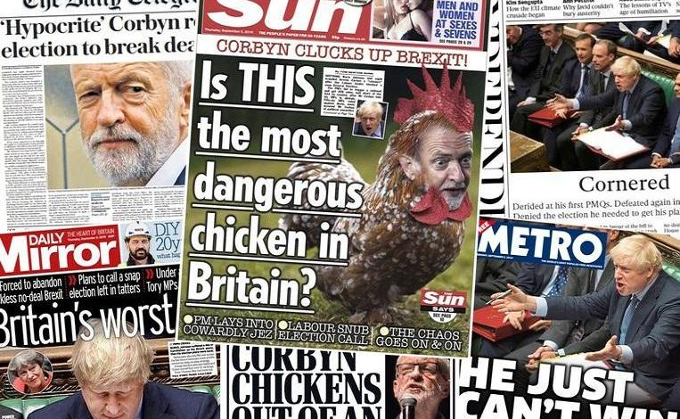 """Is this the most dangerous chicken in Britain?"""