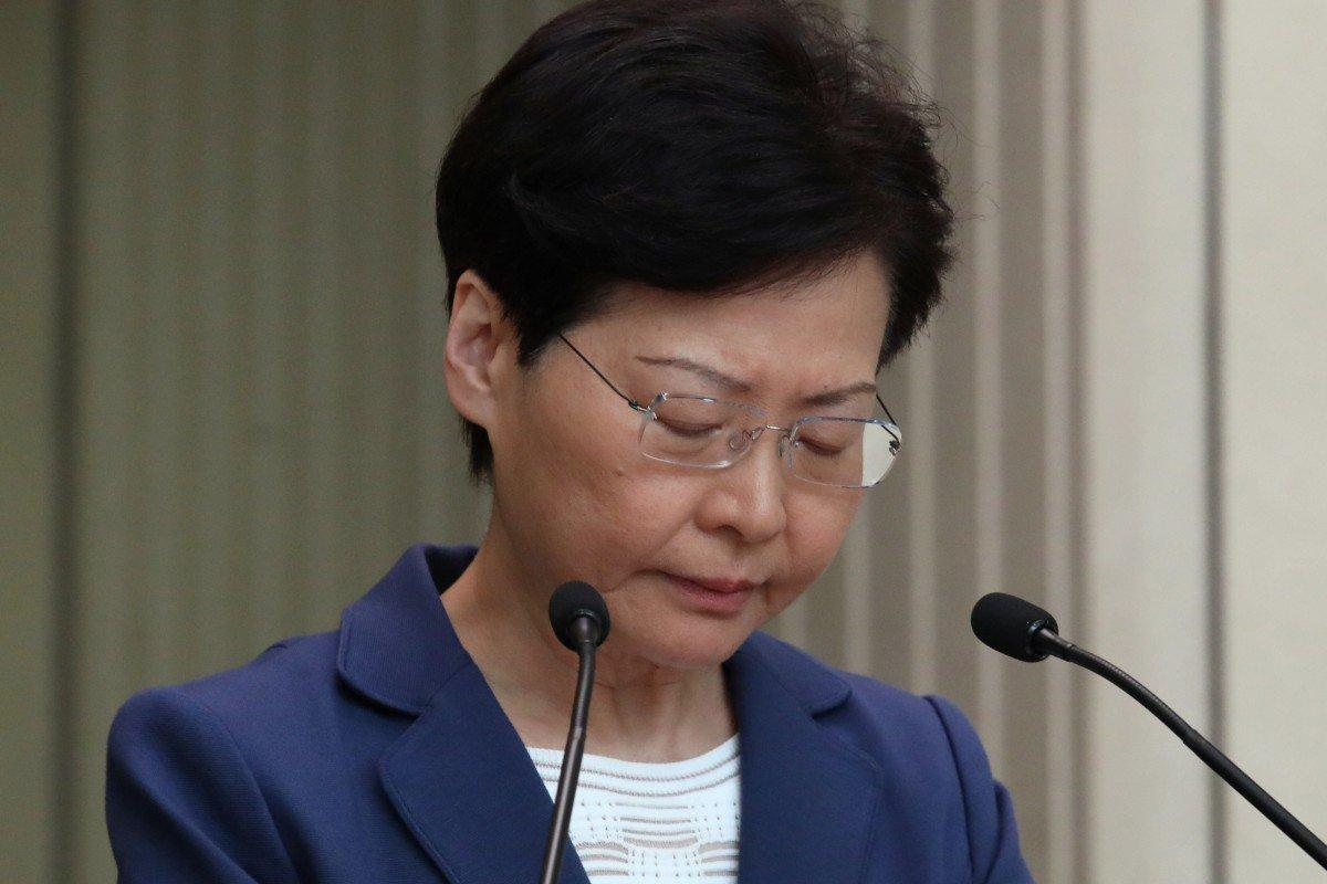 Carrie Lam warns US not to interfere in Hong Kong