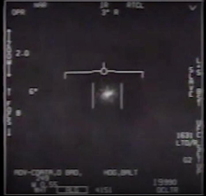 U.S. Navy confirms existing footage of UFOs