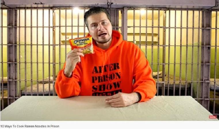 Former prisoner earns millions of dollars as a vlogger