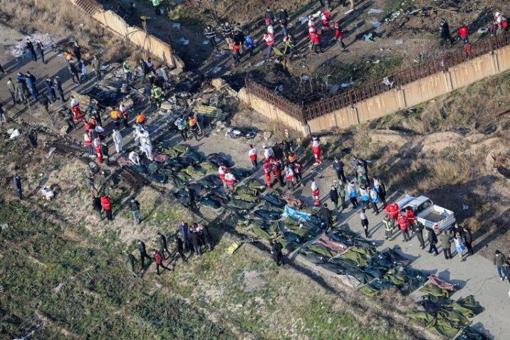 Did Boeing 737-800 crash in Iran due to technical problems?