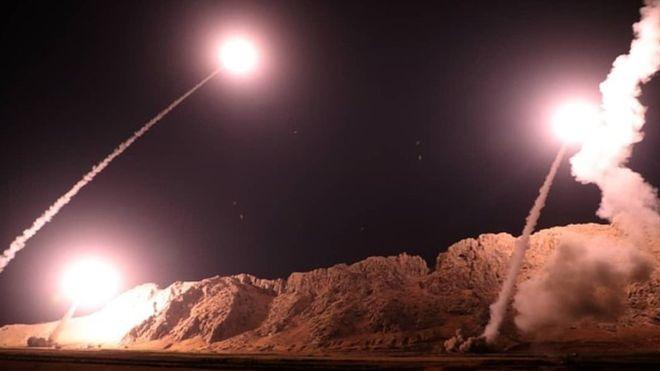Iran bombs U.S. bases in Iraq