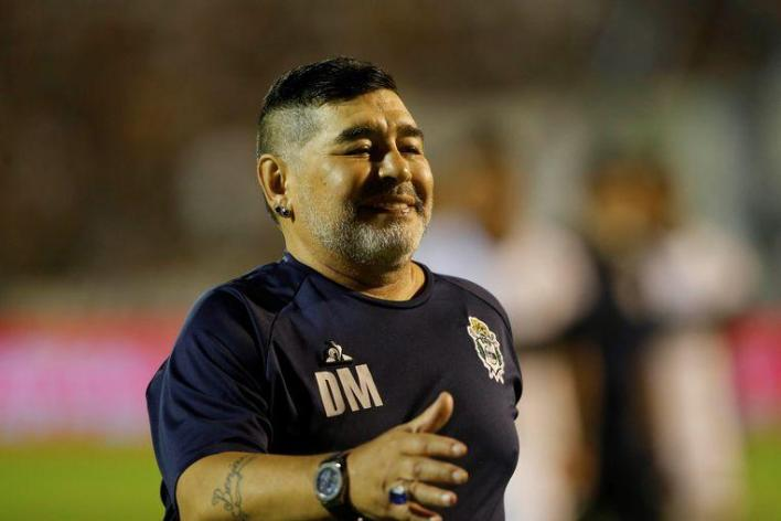 These Images of Maradona during match raise the eyebrows