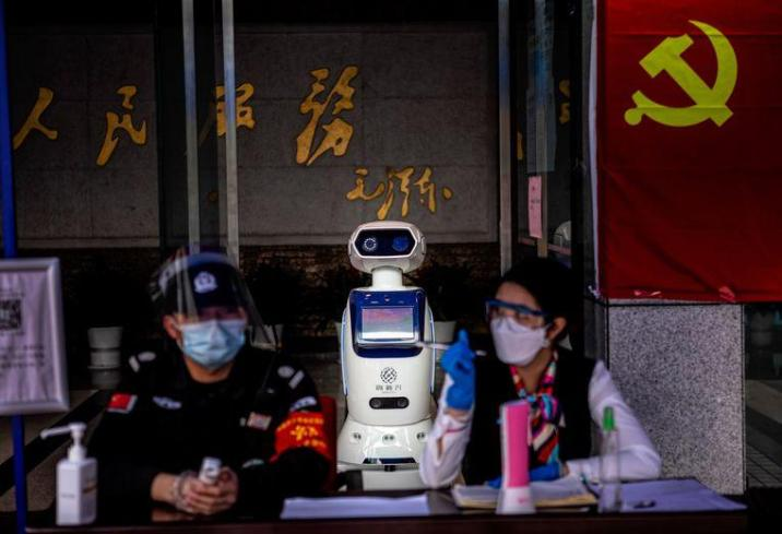 Chinese university builds robot to examine corona patients