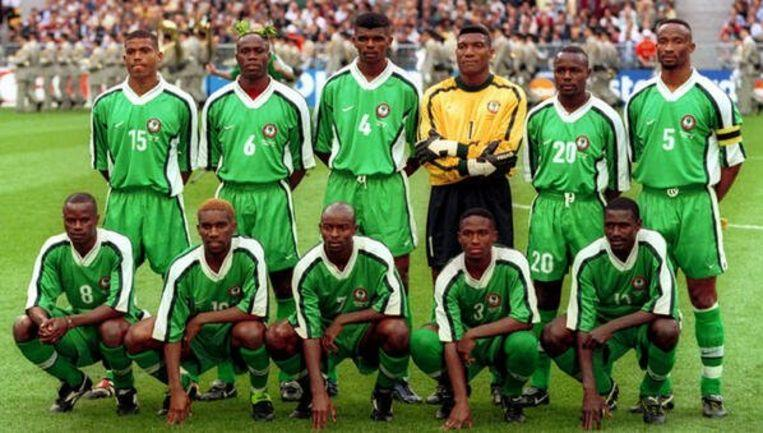 Super Eagle players overworked with women at France 98