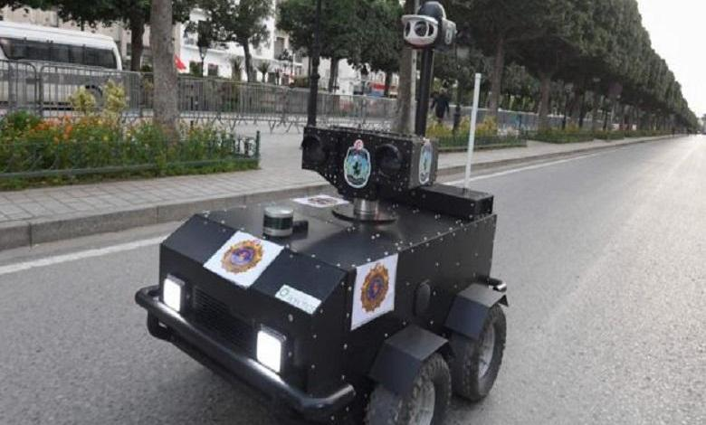 Tunisia deploys robot responsible for enforcing curfew