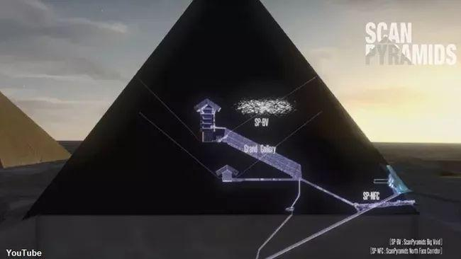 The Hidden Chamber Of The Great Pyramid